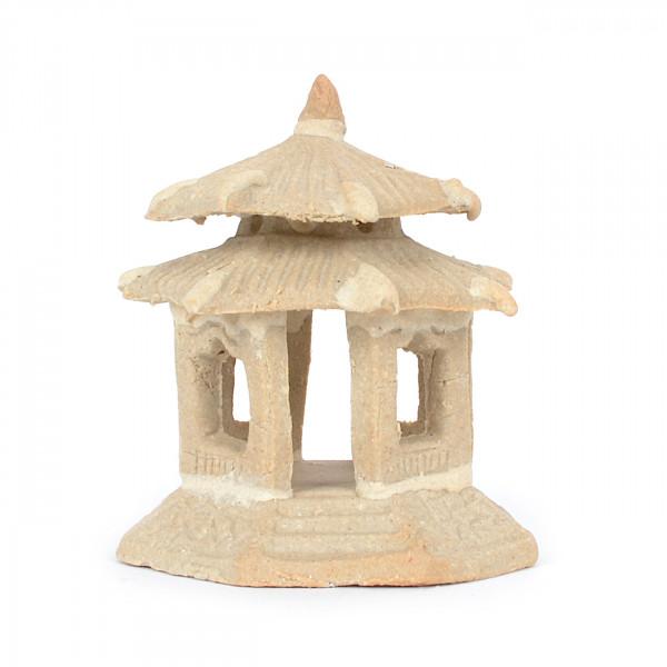 Tempel, achteckig