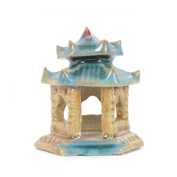 glasierter Tempel