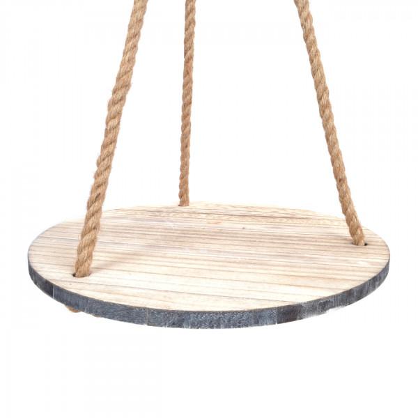 Holztablett hängend