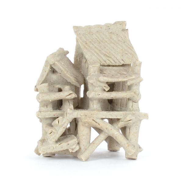 Bambushütte