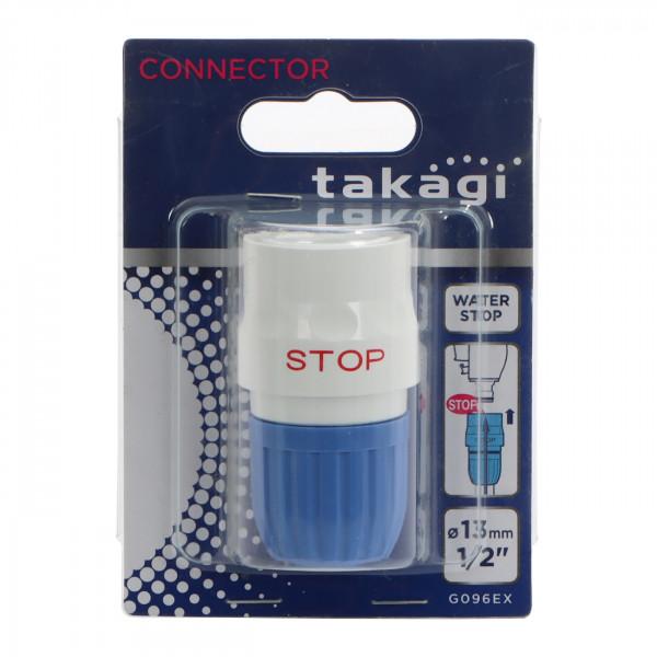 "TAKAGI Wasserstopp-Schlauchstück.13 mm (1/2"")"
