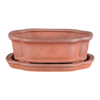 Keramikschale mit Untersetzer